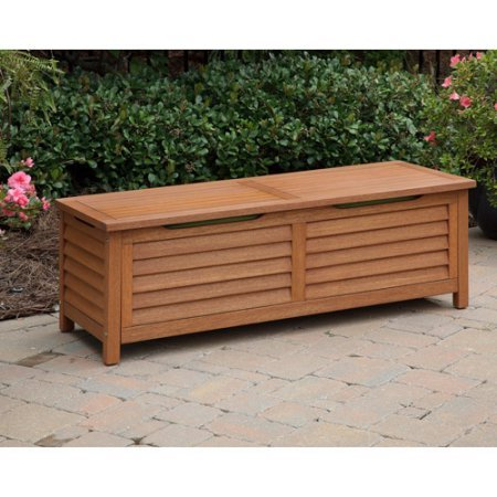 Patio-Eco-Friendly-Wood-Deck-Box-Waterproof-Eucalyptus-Finish-Storage-Bench-Suitable-for-Storing-Outdoor-Furniture-Cushions-Perfect-for-Garden-Backyard-Pool-Area-BONUS-E-book-0