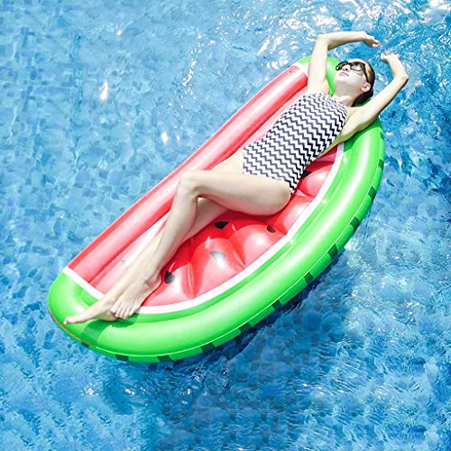 Pool-Float-Raft-Summer-Swim-Floating-Bed-Water-Recreation-Leisure-Lounger-Beach-0