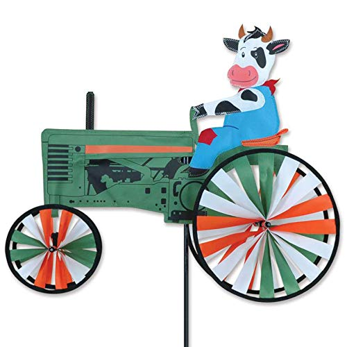 Premier-Kites-22-Inch-Cow-On-A-Tractor-Spinner-0
