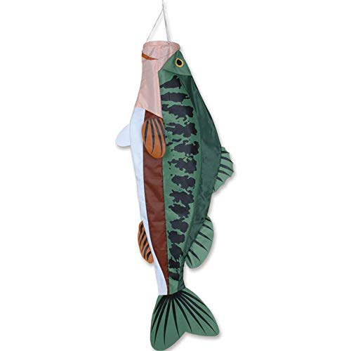 Premier-Kites-52-Inch-Large-Mouth-Bass-Windsock-0