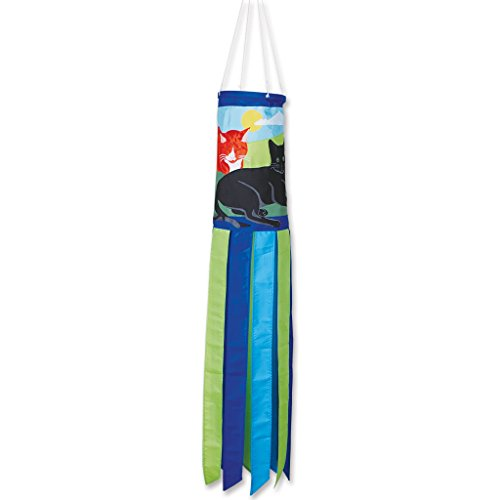 Premier-Kites-78701-Prestige-Windsock-Kitty-Kitty-8-by-50-Inch-0