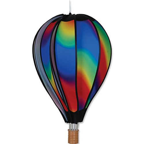Premier-Kites-Hot-Air-Balloon-Shaped-Wind-Spinner-22in-0