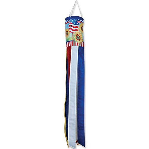Premier-Kites-Windsock-Patriotic-Sunflower-0