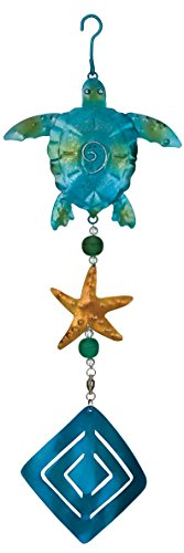 Regal-Art-Gift-Sea-Turtle-Twirly-Garden-Hanging-Ornament-0