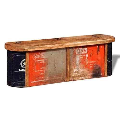 SKB-Family-Reclaimed-Solid-Wood-Sideboard-Storage-Bench-Outdoor-Garden-Seat-0-0