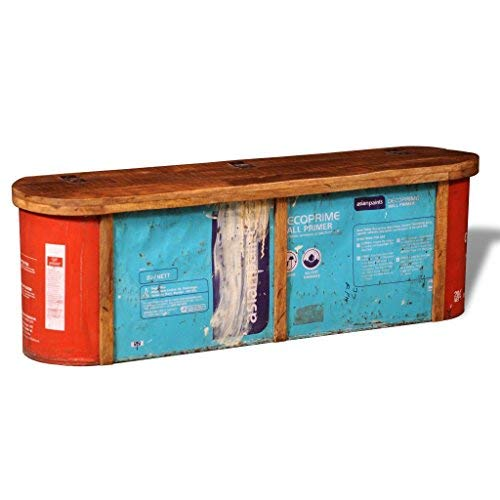 SKB-Family-Reclaimed-Solid-Wood-Sideboard-Storage-Bench-Outdoor-Garden-Seat-0-2