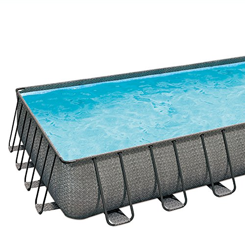 SUMMER-WAVES-32-x-16-x-52-Above-Ground-Rectangle-Frame-Pool-Set-Dark-Wicker-0-0