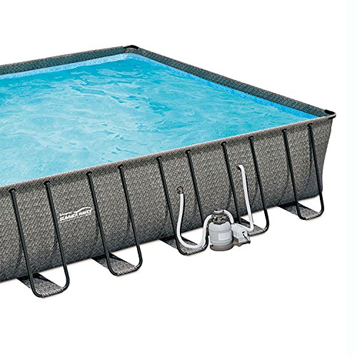 SUMMER-WAVES-32-x-16-x-52-Above-Ground-Rectangle-Frame-Pool-Set-Dark-Wicker-0-1