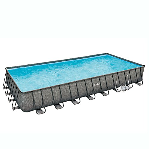 SUMMER-WAVES-32-x-16-x-52-Above-Ground-Rectangle-Frame-Pool-Set-Dark-Wicker-0