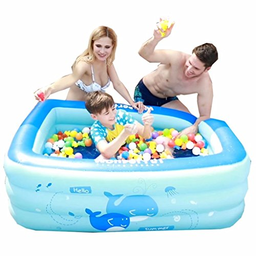 SYHY-Children-Inflatable-Pool-Home-Thickening-Baby-Inflatable-Swimming-Bath-Barrel-Paddling-Pool-0