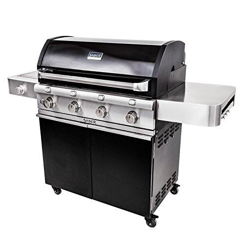 Saber-Grills-R67CC1117-Cast-Black-4-Burner-Cart-0-0