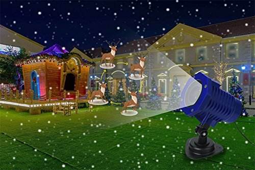 Shineart-Christmas-Halloween-Projector-Light-Range-50ft-Projection-Distance-Holiday-Light-Projector-8-Movie-Slides-Rotation-Projection-Scenes-for-Party-Holiday-Decoration-0-0