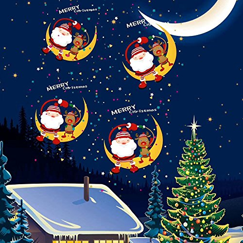 Shineart-Christmas-Halloween-Projector-Light-Range-50ft-Projection-Distance-Holiday-Light-Projector-8-Movie-Slides-Rotation-Projection-Scenes-for-Party-Holiday-Decoration-0-2