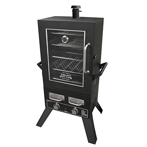 Smoke-Hollow-PS4415-Pro-Series-Propane-Smoker-33-x-245-x-60-Black-0-0
