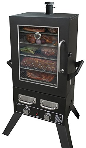Smoke-Hollow-PS4415-Pro-Series-Propane-Smoker-33-x-245-x-60-Black-0