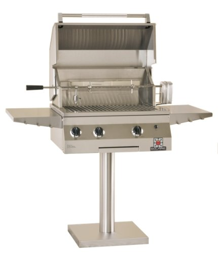 Solaire-27-Inch-Deluxe-Infrared-Natural-Gas-Bolt-Down-Post-Grill-with-Rotisserie-Kit-Stainless-Steel-0