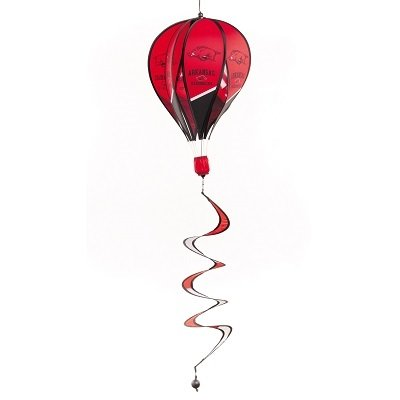SportsMemoryShop-Arkansas-Razorbacks-Hot-Air-Balloon-Spinner-0