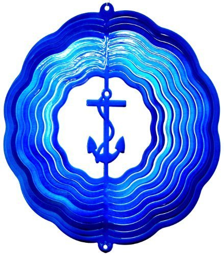 Stainless-Steel-Wind-Spinner-12-Anchor-Blue-Starlight-0