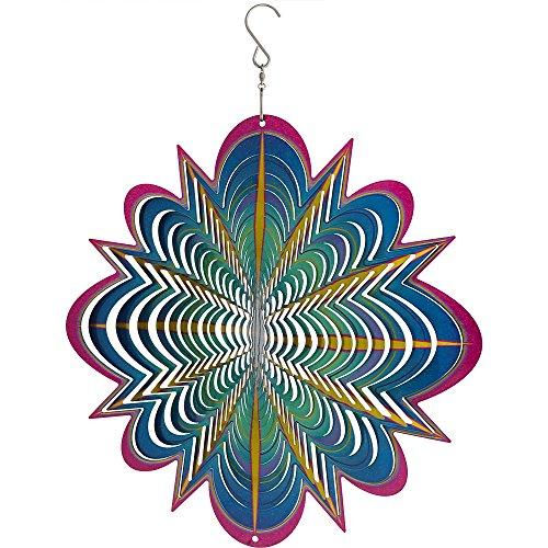 Sunnydaze-12-Inch-Decorative-3D-Whirligig-Wind-Spinner-Options-0-0