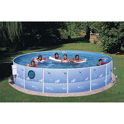 Swim-N-Play-15ft-x-36in-Above-Ground-Pool-Package-with-Port-Hole-0