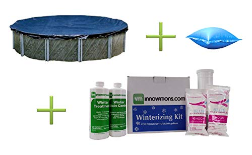 Swimline-24-Round-Above-Ground-Pool-Cover-3-Air-Pillows-Winter-Closing-Kit-0