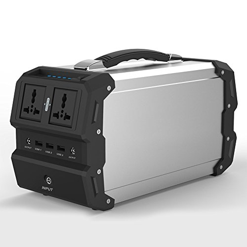 TTLIFE-Portable-Solar-Generator-with-ACDC-Inverter-for-Camping-Source-Power-Supply-DCUSB-Outports-Charged-by-Solar-PanelWall-OutletCar-Outlet444Wh120000mAh-0