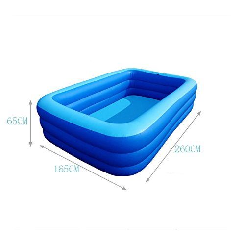 TYCGY-Childrens-Inflatable-Pool-Square-Pool-Adult-Bathtub-Heightening-Family-Pool-Infant-Childrens-Tub-Extra-Large-0-0