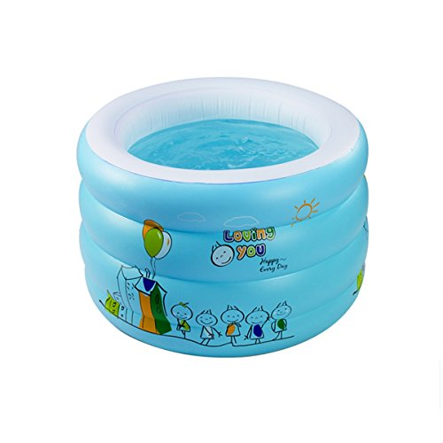 TYCGY-Childrens-Inflatable-Swimming-Pool-Baby-Household-Large-Size-Circular-Swimming-Bucket-100×66-cm-0