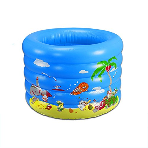 TYCGY-Childrens-Inflatable-Swimming-PoolRound-Swimming-Bucket-100×75-cm-0-1