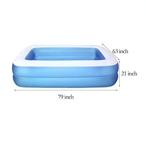 TYCGY-Family-Swimming-Pool-Large-Pool-For-AdultsChildren-Blue-79-Inches-0-0