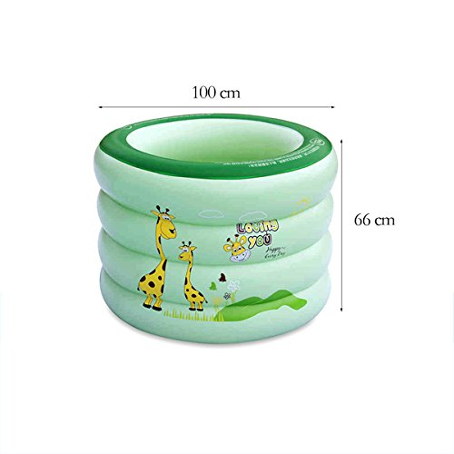 TYCGY-Household-Large-Size-Circular-Swimming-BucketBaby-Childrens-Inflatable-Swimming-Pool-100×66-cm-0-0