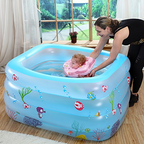 TYCGY-Infant-Pool-Inflatable-Thick-Newborn-Swimming-Pool-Home-Kids-Indoor-Paddling-Pool-Baby-Pool-size14010075cm-0-1