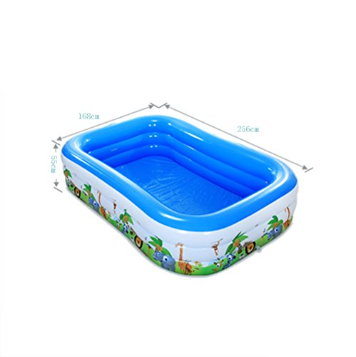TYCGY-Inflatable-Bathtub-Air-Tub-With-Air-Pump-And-20-Colorful-Marine-Balls-Foldable-Portable-For-Swimming-Pool-And-Home-blue-0-0