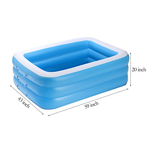 TYCGY-Rectangular-PoolBaby-Family-Swimming-PoolThick-Material-Swimming-Pool-Children-59-Inch-0-0