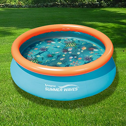 The-Patio-Swimming-Pool-Set-Inflatable-Pool-Round-0