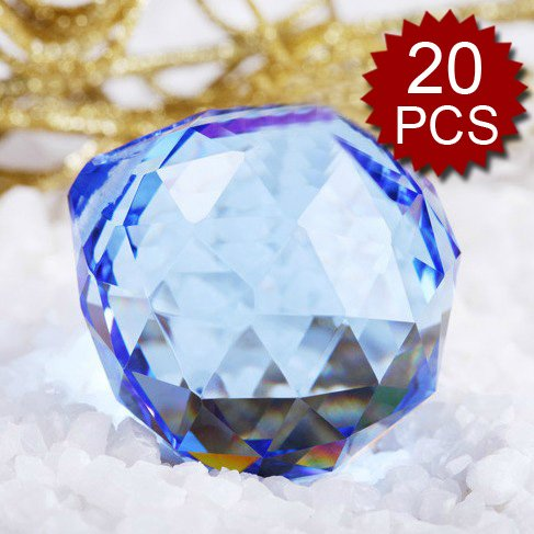 Top-Quality-Blue-Glass-Prisms-40MM-Price-For-20-Pcs-0