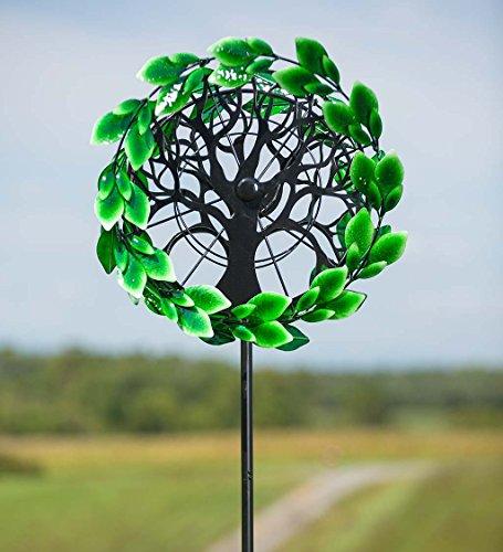 Tree-of-Life-Outdoor-Metal-Garden-Wind-Spinner-Sculpture-24-L-x-1614-W-x-75-H-0