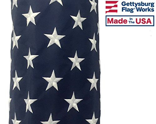 US-Flag-Design-Windsock-Decorative-and-Patriotic-with-Sewn-Stripes-and-Embroidered-Stars-Made-in-USA-0-0