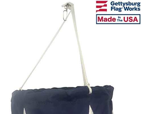 US-Flag-Design-Windsock-Decorative-and-Patriotic-with-Sewn-Stripes-and-Embroidered-Stars-Made-in-USA-0-1