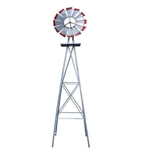 USA-Premium-Store-Metal-8FT-Windmill-Yard-Garden-Decoration-Weather-Rust-Resistant-Wind-Spinners-0-1