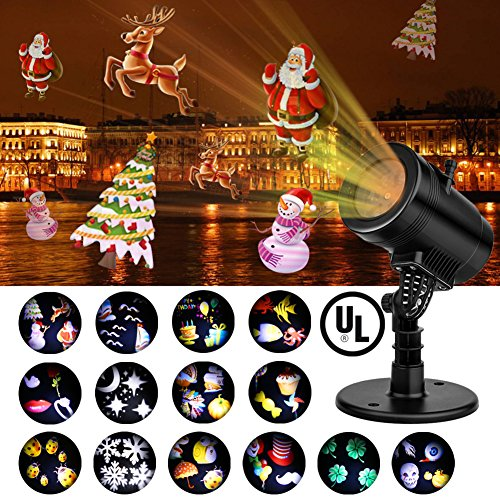 Upgraded-LED-Projector-Light-With-14-Interchangeable-Slides-Ebeet-Waterproof-Landscape-OutdoorIndoor-Spotlight-for-Halloween-Christmas-Thanks-Giving-Day-Birthday-Wedding-Party-Home-Decoration-etc-0