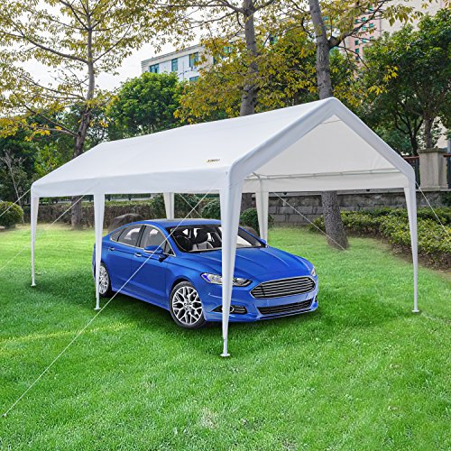 Vingli 10 X 20 Heavy Duty Carport Car Canopy W Edge