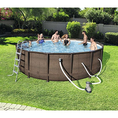 WALLER-PAA-16-x-48-Power-Steel-Frame-Above-Ground-Swimming-Pool-Set-with-Pump-0