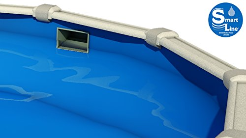 Wilbar-Meadows-Reprieve-12-Foot-by-18-Foot-Oval-Above-Ground-Swimming-Pool-52-Inch-Height-Resin-Protected-Steel-Sided-Walls-Bundle-with-Solid-Blue-Pattern-Overlap-Liner-and-Widemouth-Skimmer–0-1
