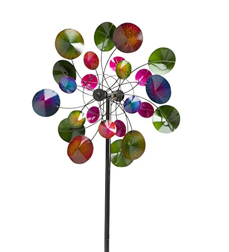 Wind-Weather-KA6922-Garden-Wind-Spinner-235-x-775-x-75-Multicolor-0