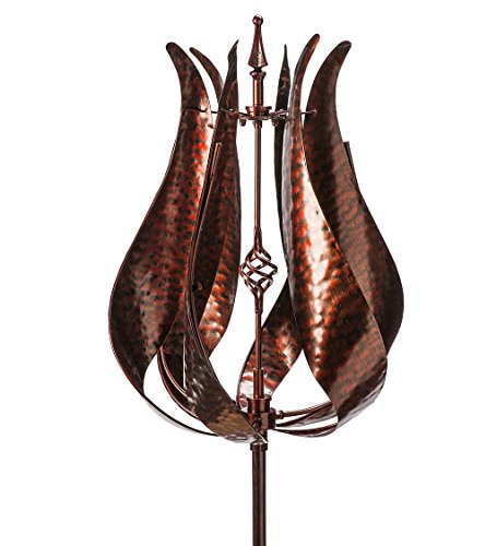 Wind-Weather-KA7055-Bronze-Tulip-Water-Wind-Spinner-Finish-0