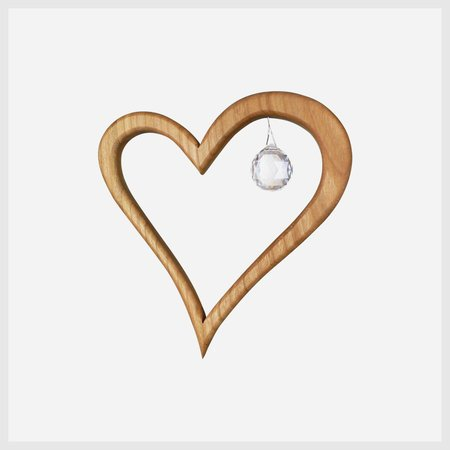 Wooden-Heart-Suncatcher-Window-Decoration-5-with-Spectra-Crystal-0
