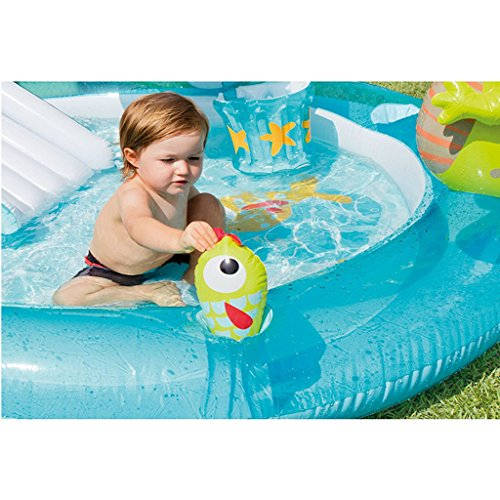XiYunHan-Childrens-pool-Water-spray-Inflatable-swimming-pool-Paddling-pool-baby-Sand-pool-ocean-Ball-Pool-child-Slide-0-0