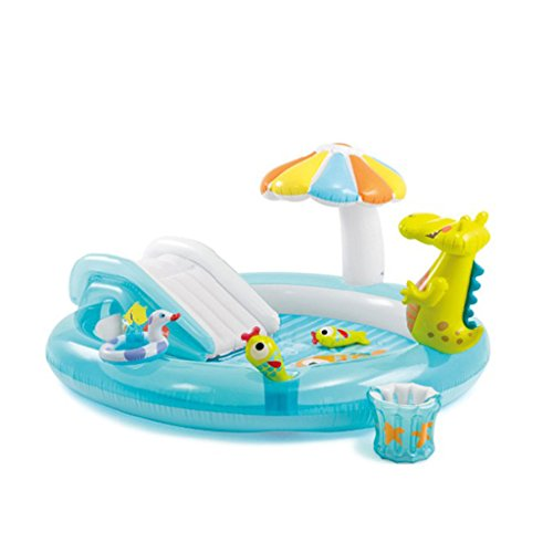 XiYunHan-Childrens-pool-Water-spray-Inflatable-swimming-pool-Paddling-pool-baby-Sand-pool-ocean-Ball-Pool-child-Slide-0