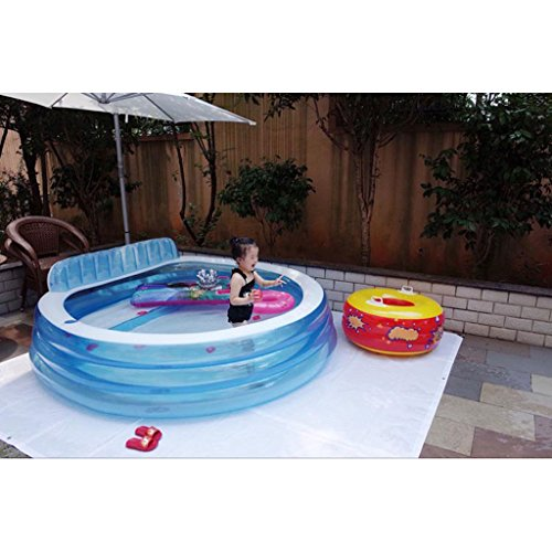 XiYunHan-Family-swimming-pool-Backrest-Inflatable-Baby-swimming-pool-ocean-Ball-Pool-child-adult-Large-4-5-people-0-2